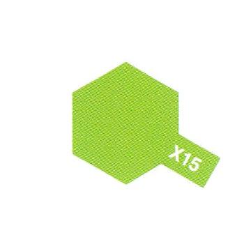 LIGHT GREEN X15 BRILLANT