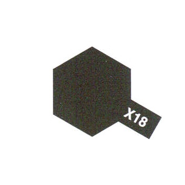 SEMI GLOSS BLACK X18 NOIR SATINE