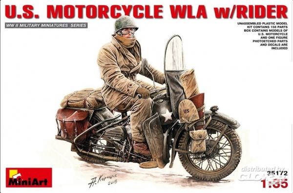 US MOTORCYCLE WLA RIDER